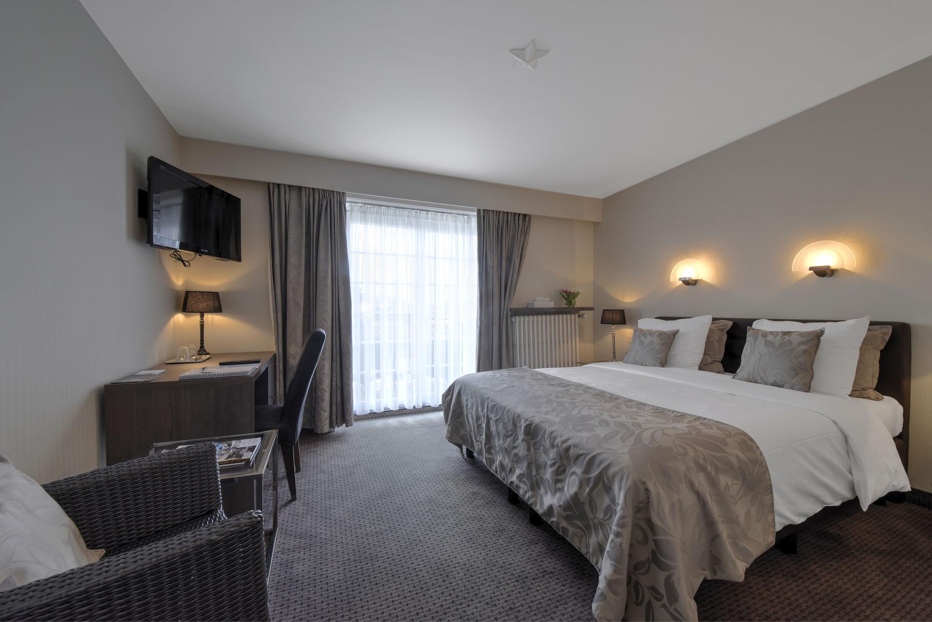 Room with balcony - Pavillon Du Zoute